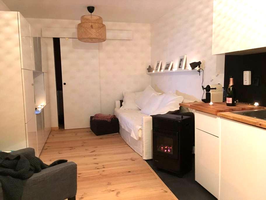 cosy studio/cabine proche monaco - Roquebrune-Cap-Martin - Apartment