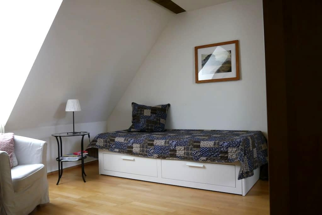 modernes Zimmer im Fachwerkhaus - Münchenstein - Pis