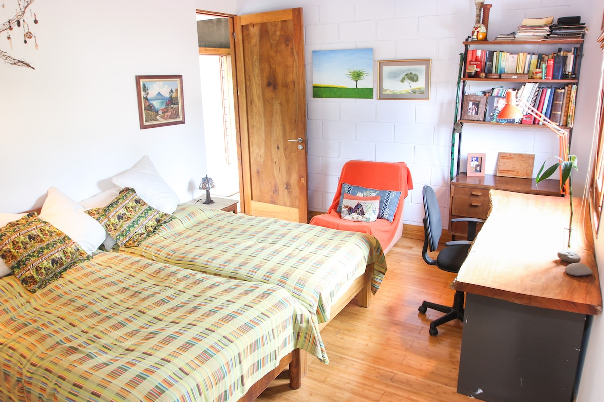 Your double bed room