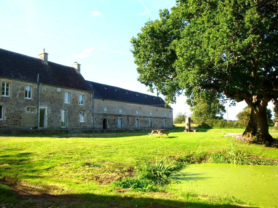 Beautiful Normandy Farmhouse (for4) - Négreville - Bed & Breakfast
