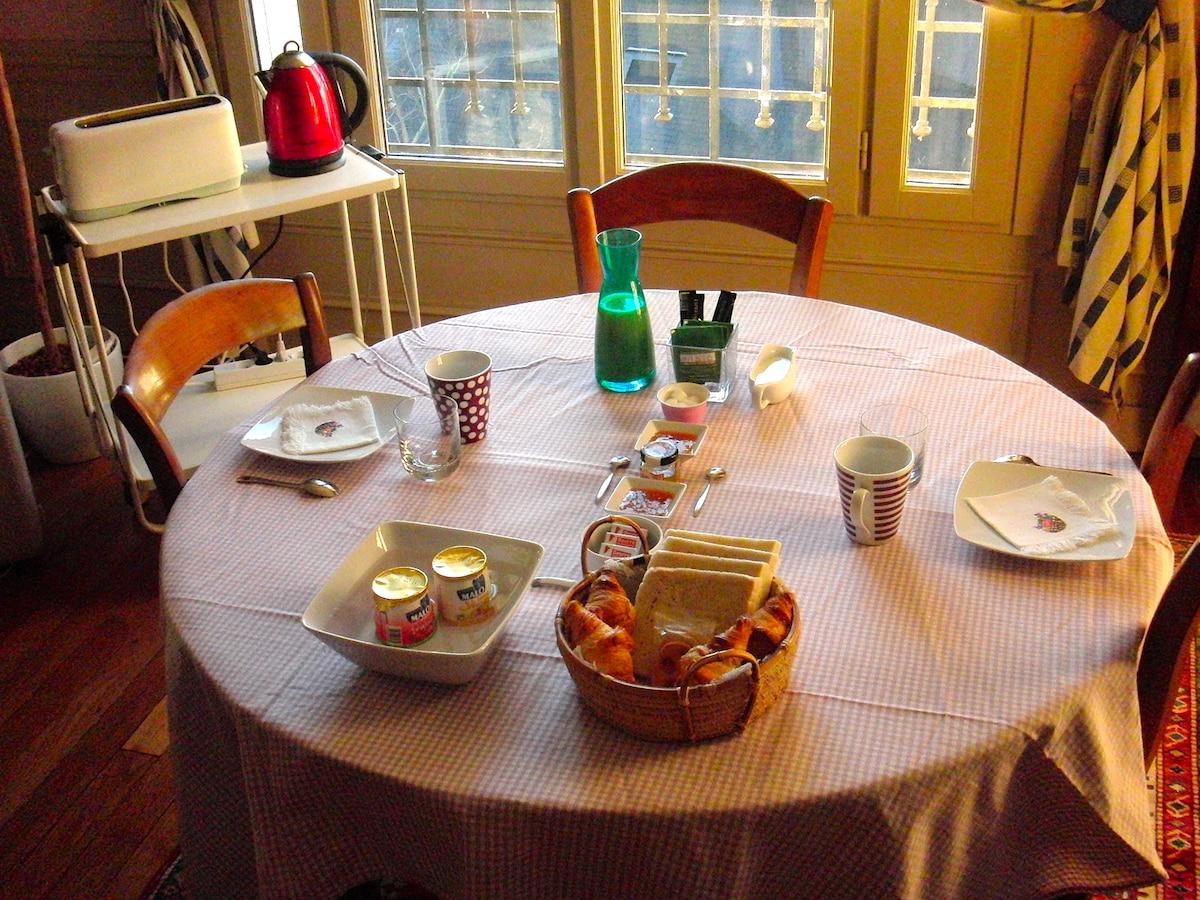 Petit-déjeuner - Breakfast - Desayuno