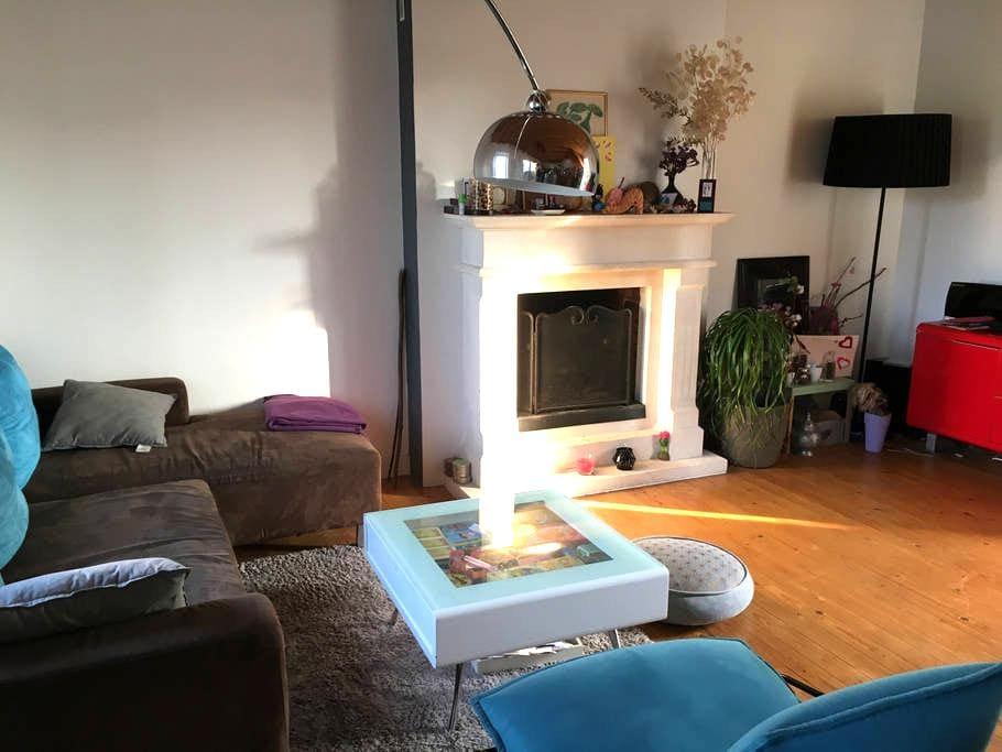 la maison violette - Martigné-Ferchaud
