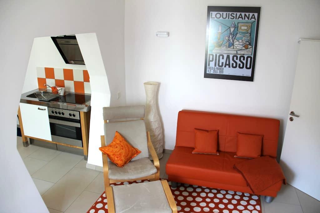 Modern maisonette apartment terrace - Mainz - Casa