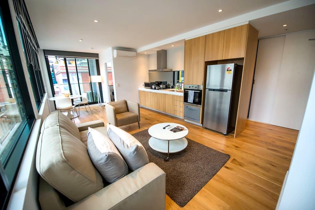 Everett Quarters in Melb's CBD - Melbourne - Apartament