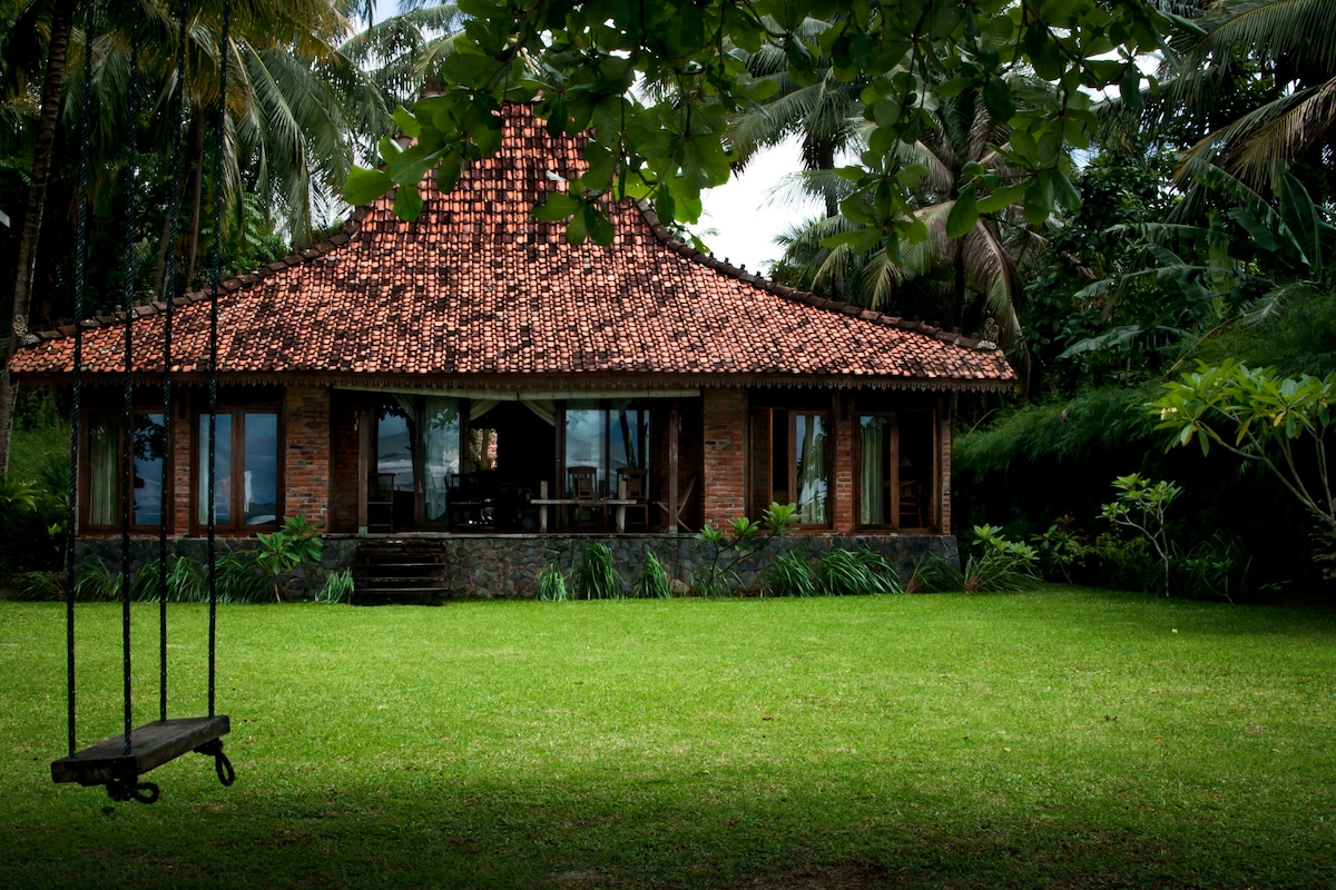 Seafront Villa in West Java