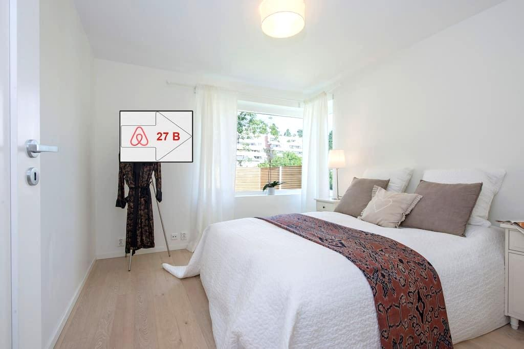 "Double BR in ""Villa 27B"" 10 min from Oslo sleeps 2 - Bærum - Villa"
