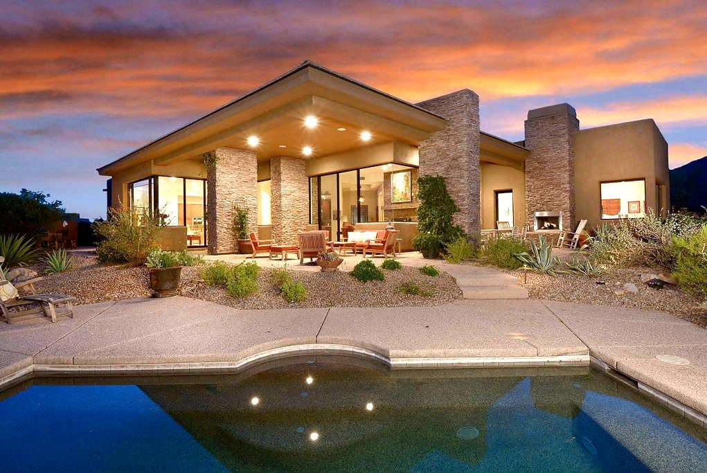 Luxury home in Tortilita Mnt canyon - Marana
