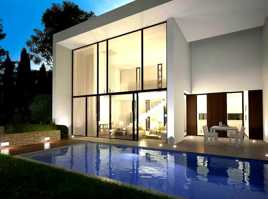 Poolside Designer Villa, Moraira - Teulada