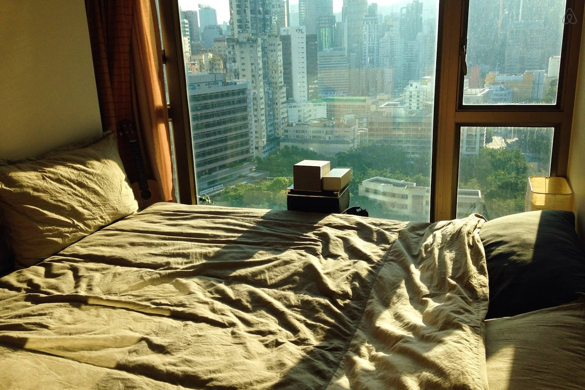 Cozy Master BR with View in Wanchai