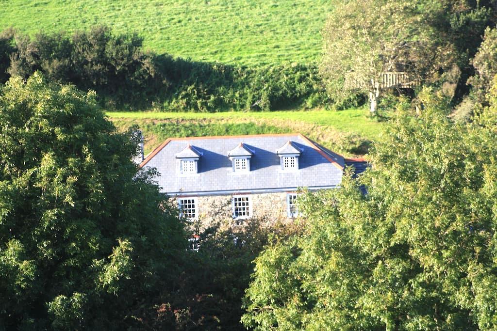 Farmhouse B&B in Batson, Salcombe - Salcombe - Bed & Breakfast
