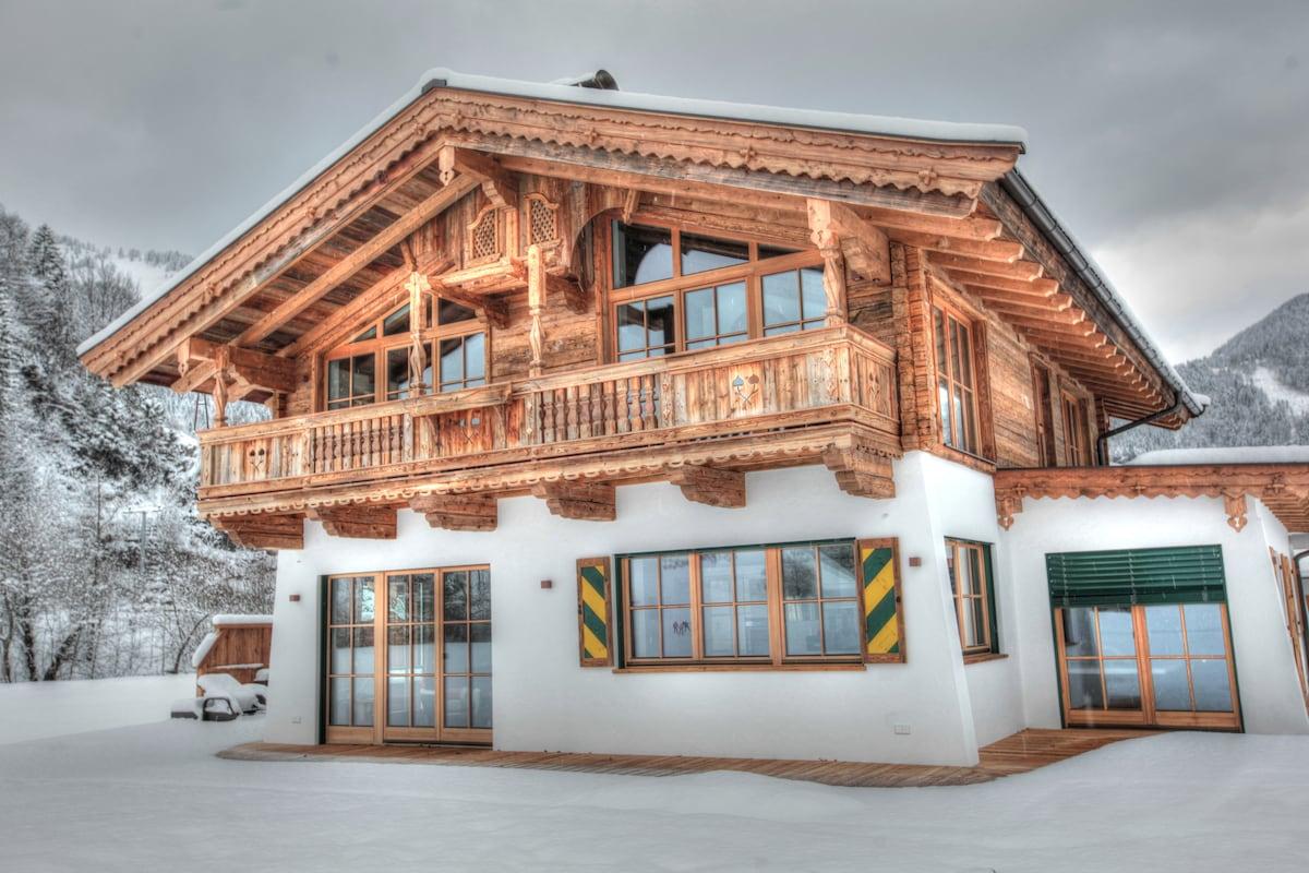 luxus chalet aptm. 1-5 gäste sauna und whirlpool - schöne chalets ... - Luxus Chalet 6 Schlafzimmer
