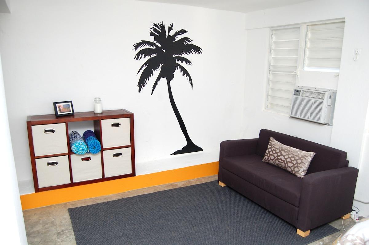 Modern Spacious Studio in Puntas