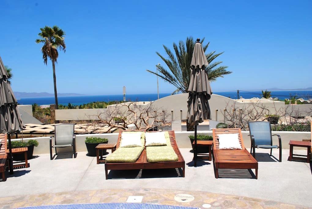 Excelent pool side apartment - La Ventana - Apartament