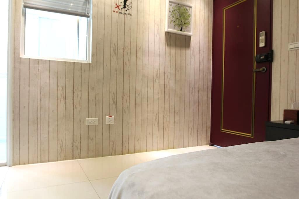 Kaohsiung Airport Siaogang MRT RoomB Double Bed - 小港区 - Apartament