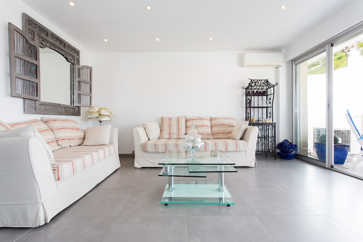 2 bedrooms: 200m from Croisette!