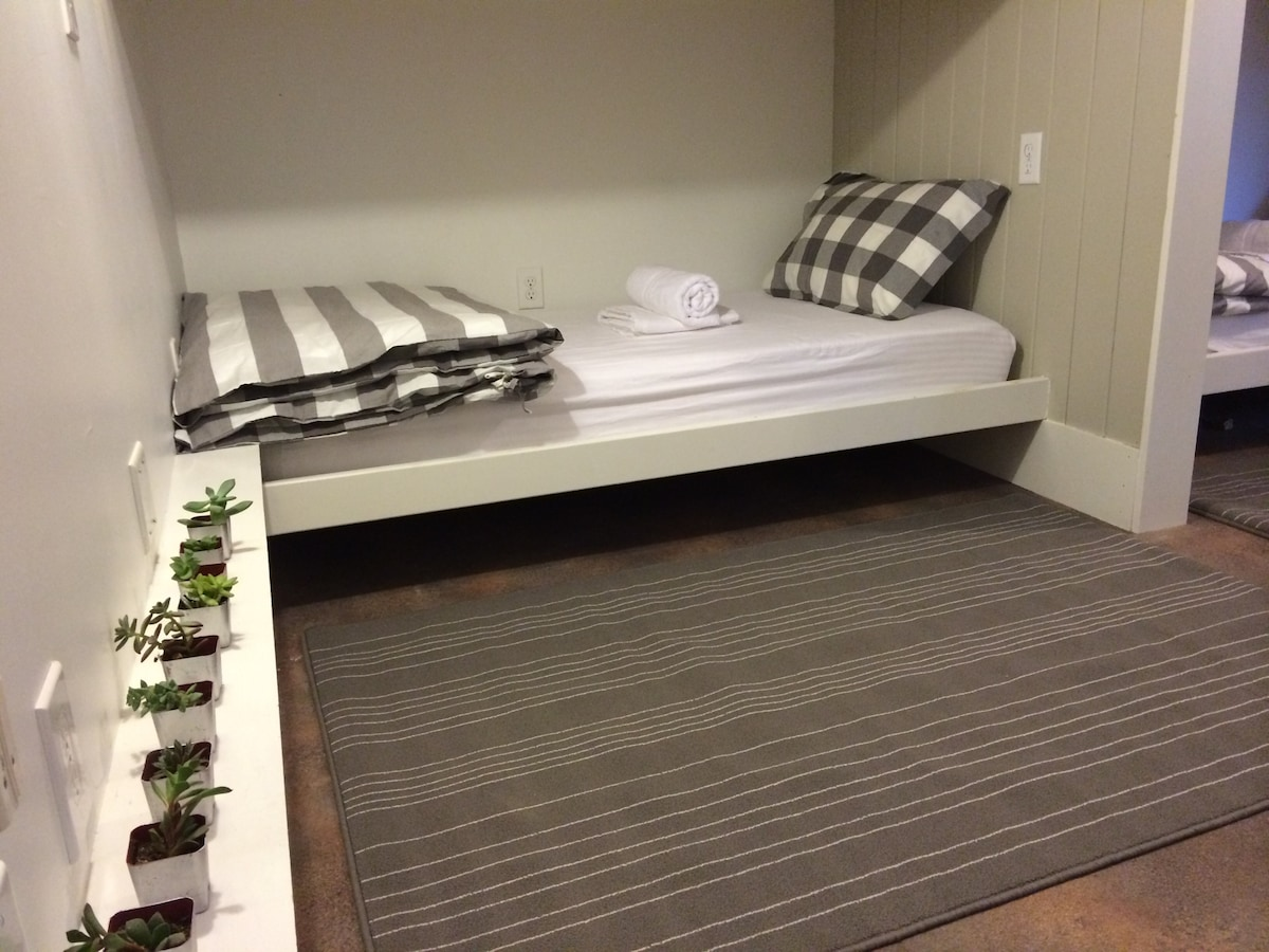 Single Bed in our Dorm-Style Room