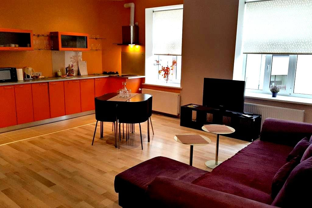 Modern Riga central apartment - Riga - Pis