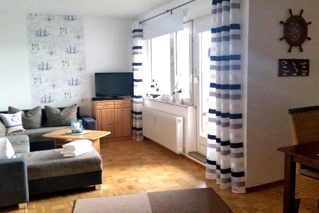 Strandnahe,maritime Wohnung mit Fördeblick - Kiel - Osakehuoneisto