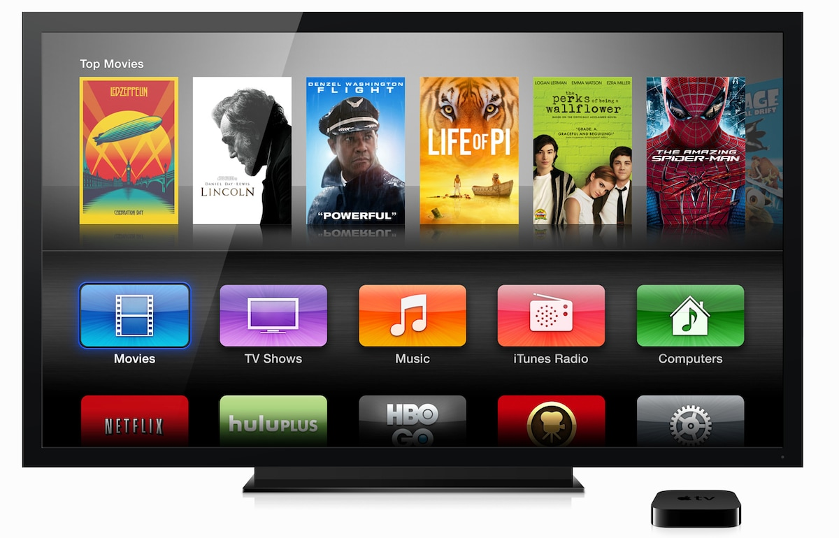 Watch your favorite movies and shows on Netflix, Hulu Plus and Amazon with AppleTV