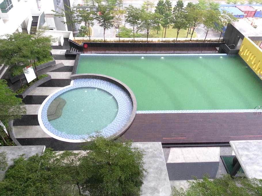 1 bedroom studio in Cyberjaya - Taman Sains Selangor 2 - Apartamento