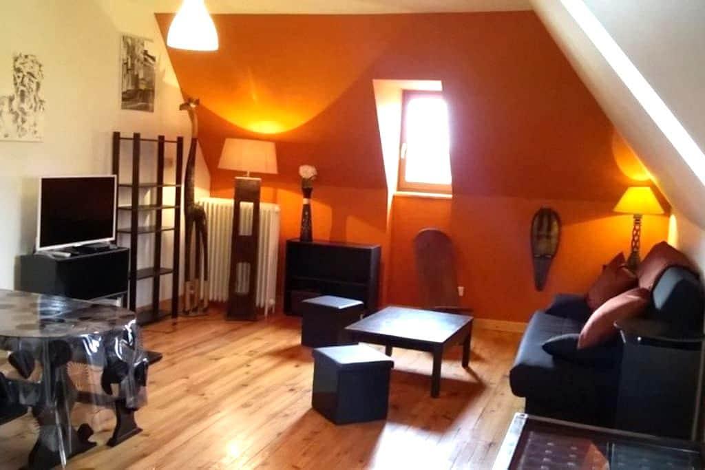 Joli appartement dans grand gîte - Tauves - Lägenhet