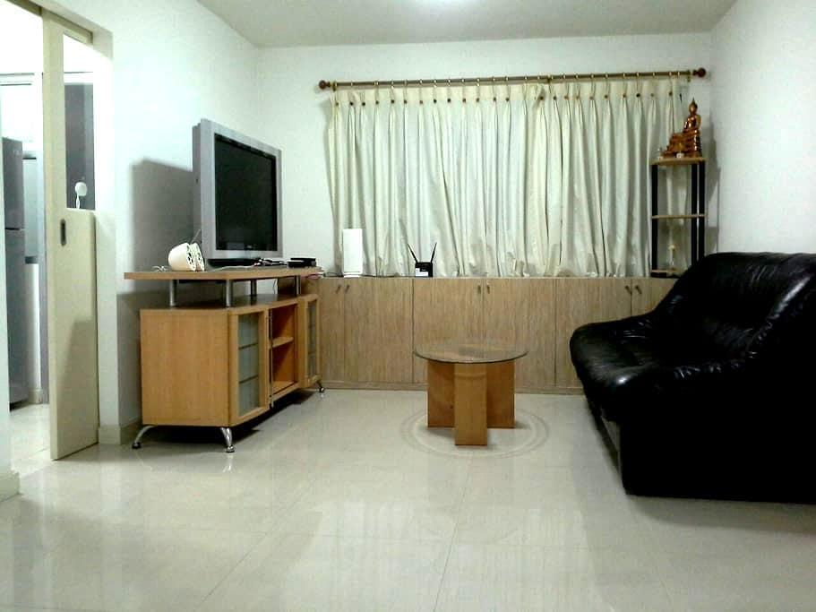 Fully equipped 50 sqm. BTS Thonglor - Bangkok - Apartament