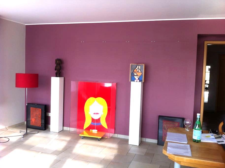 Art & Cosy & Modern & New & Terras - Bertrange - Wohnung