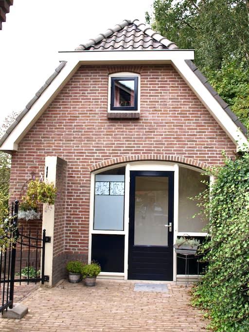 Vrijstaand logeerhuis  - Oldebroek - 一軒家