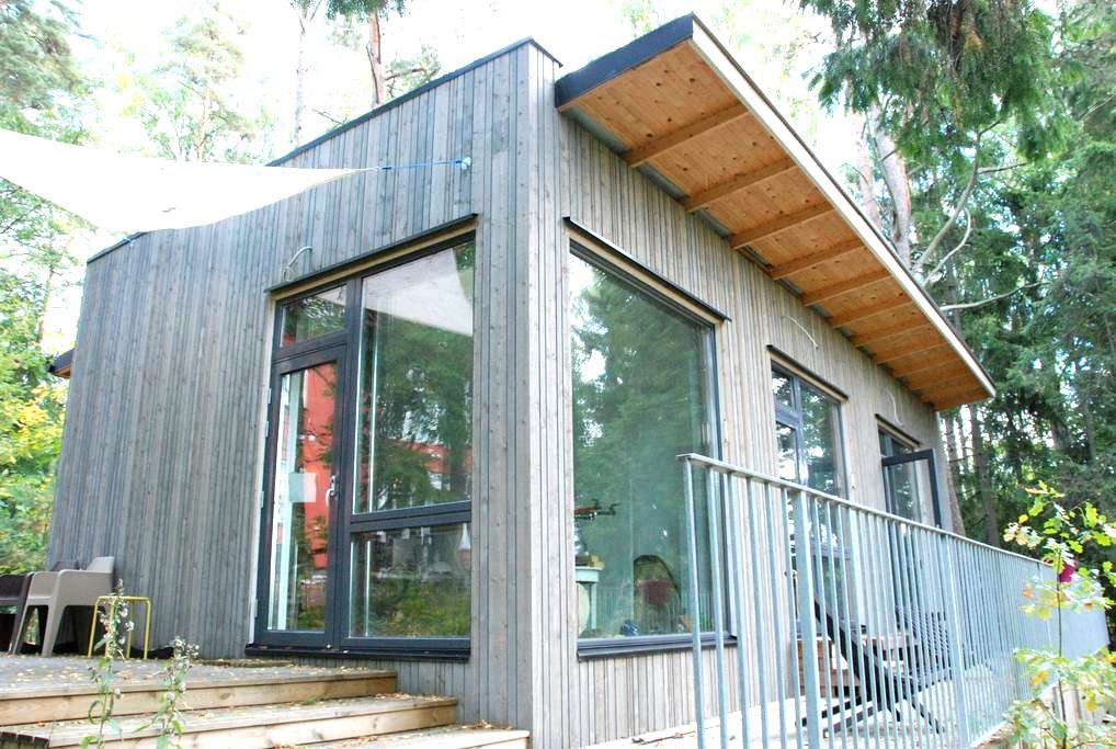 Yksiö modernissa puutarhatalossa - Espoo - Appartement
