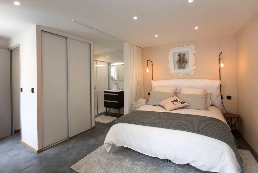 Chambre Fontenelles - Thiverval-Grignon - House