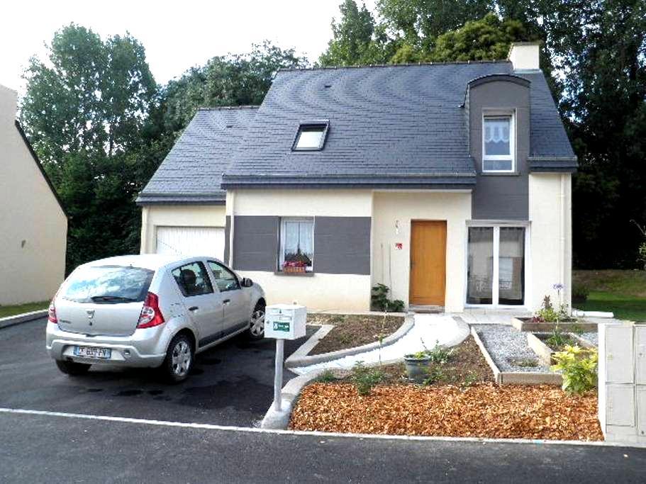 chambre dans maison récente - Dol-de-Bretagne - Hus