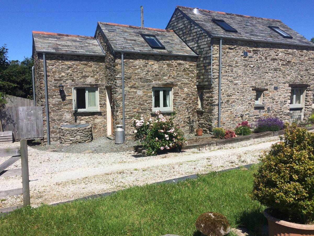 Traditional Cornish Barn Conversion