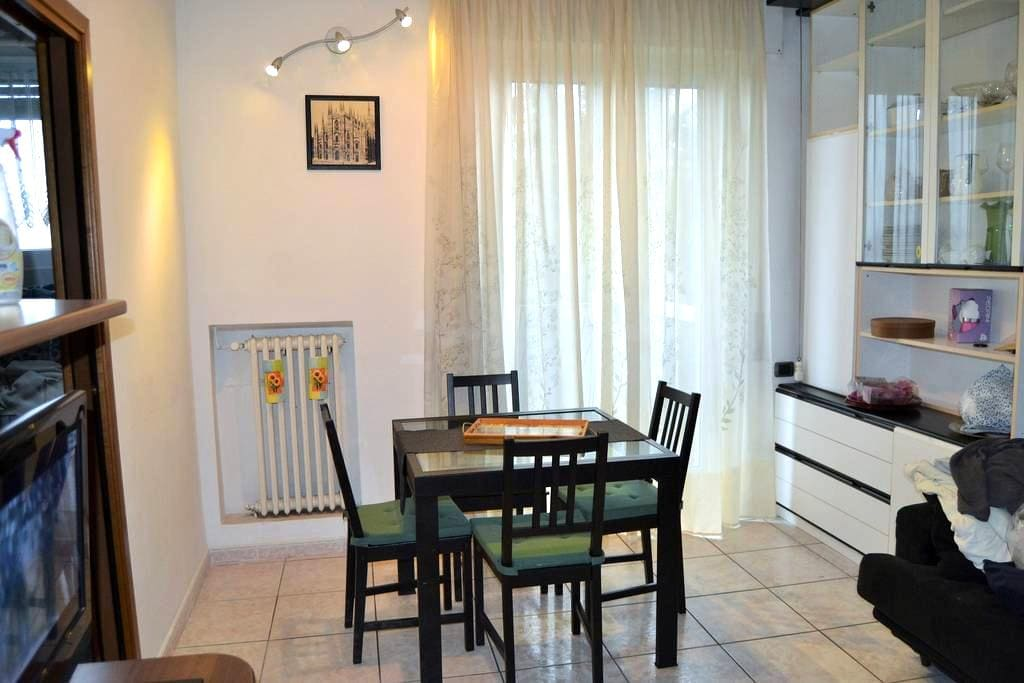 Two bedrooms flat near the airport - Milaan - Appartement