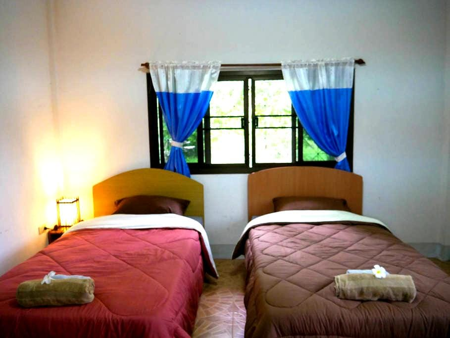 Microkosmos Guest House  ( Chiang Dao ) 2 bed - Chiang Dao