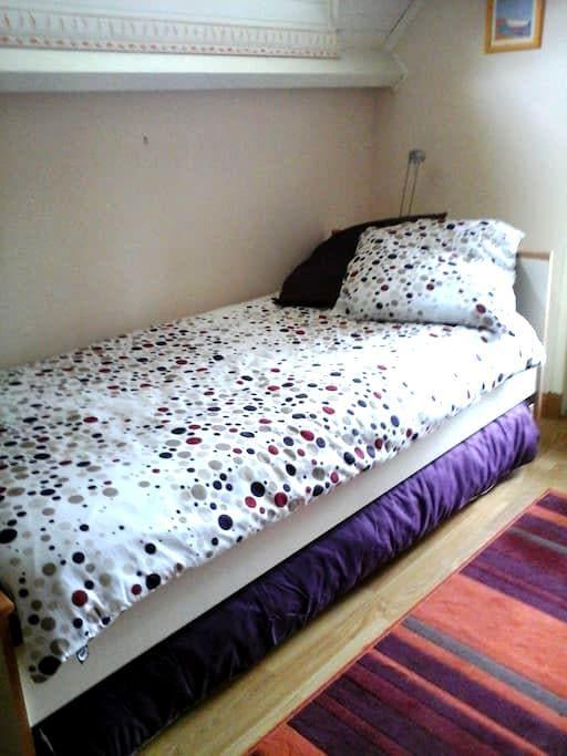 chambre avec balcon - Gouy-Sous-Bellonne - บ้าน