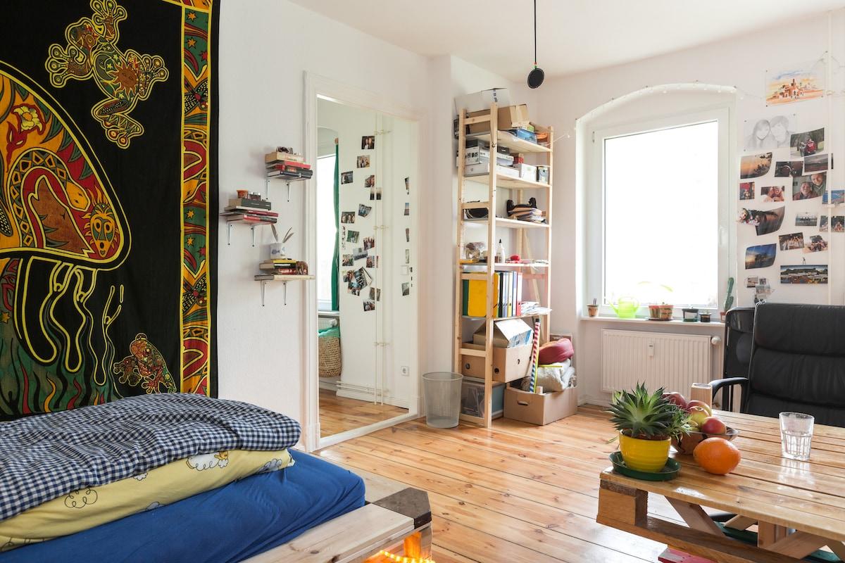 Relaxte upcycling Wohnung Neukölln