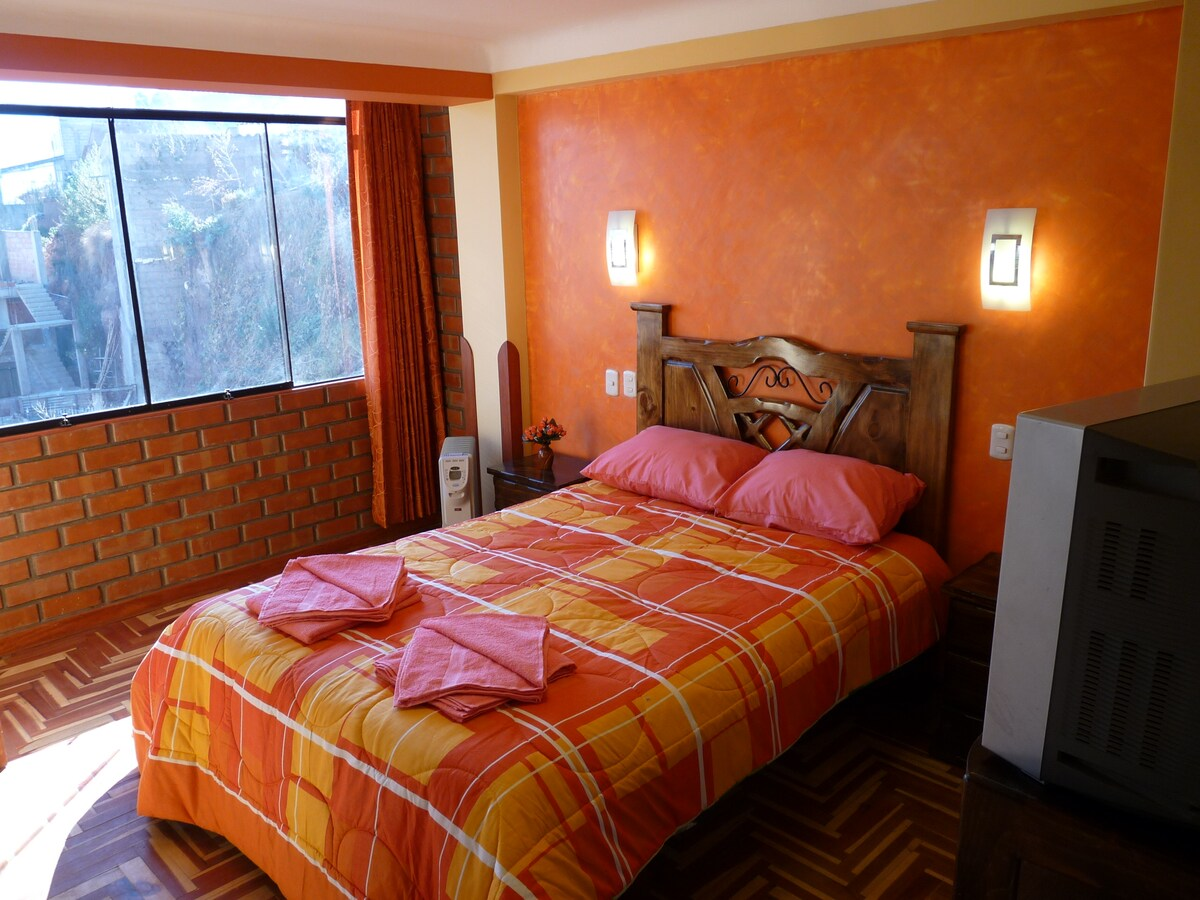 Cusco Peru- Matrimonial Room & Bath