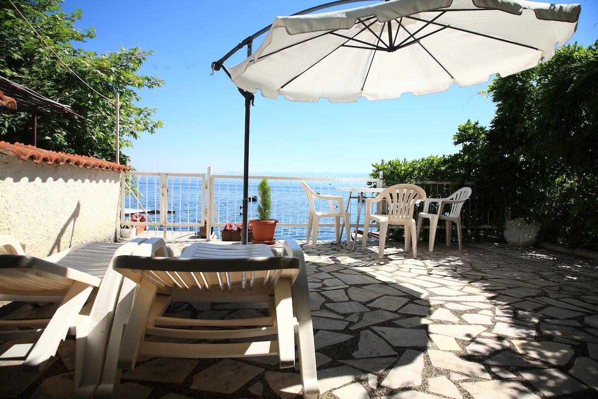 Villa Ellza on shore of Lake Ohrid