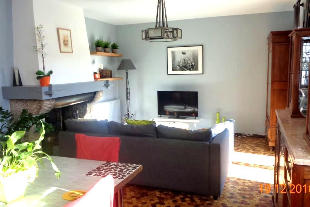 Appartement de charme dans les Pyrénées Ariégeoise - Arignac - 公寓