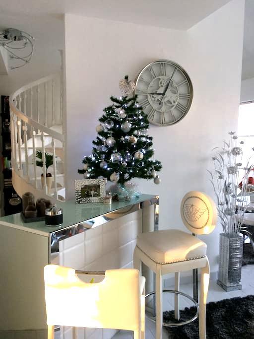 Charmant Duplex Foire de Lyon 2017 - Genas - Apartamento