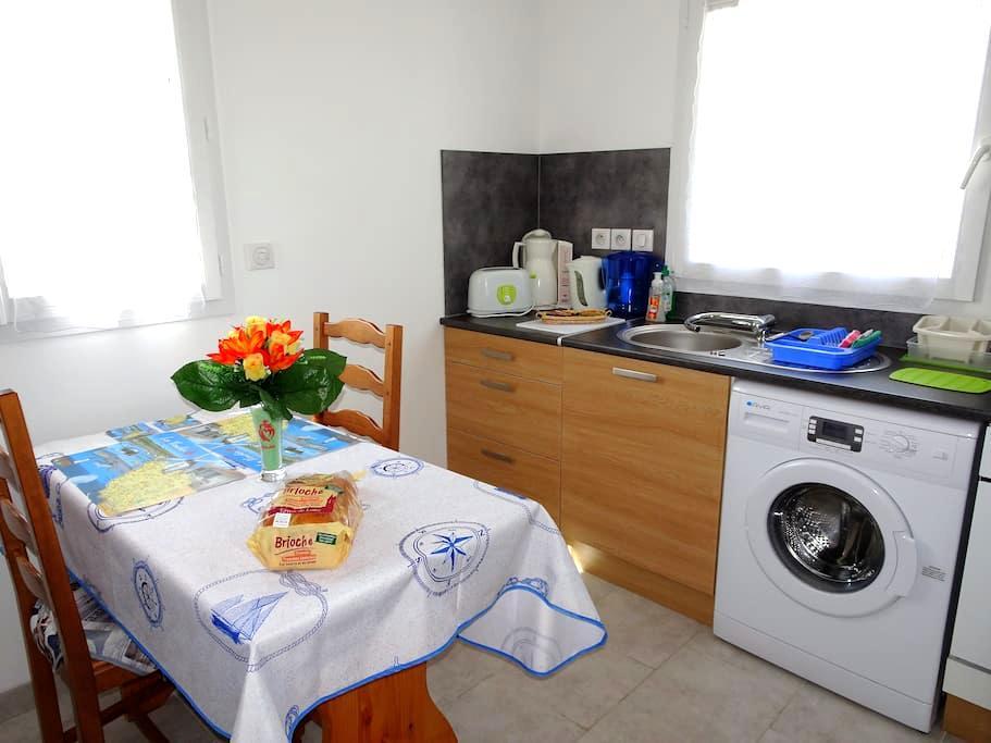 Appt Coeur VendéenWIFI proche des plages - Longeville-sur-Mer - Apartmen