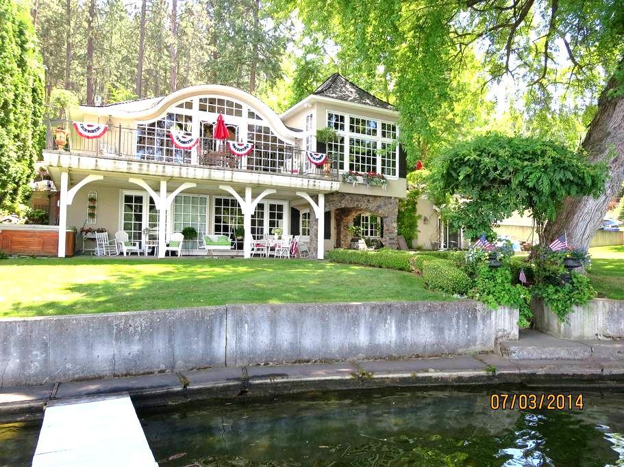 Waterfront Haven on Dreamwood Bay - Liberty Lake - 公寓