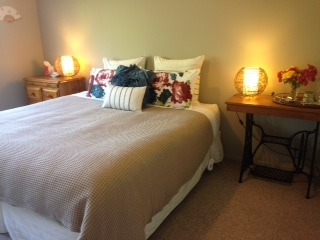 Room One has a king size bed which can separate to become 2 single beds. A trundle bed can also be set up in this room.