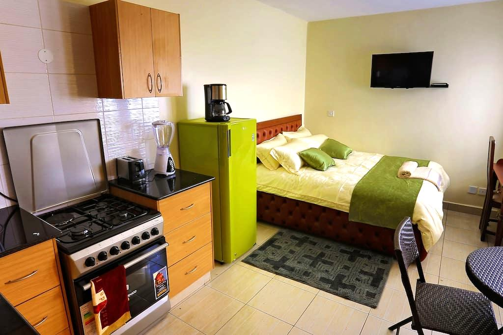 Cosy Furnished Studio Apartment in Nairobi's CBD - Nairobi - Apartmen