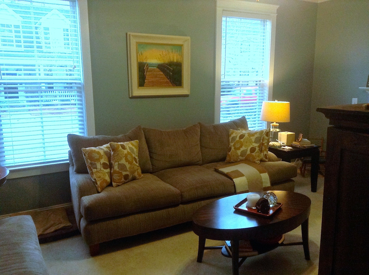 An inviting Living room you are welcome to relax in.