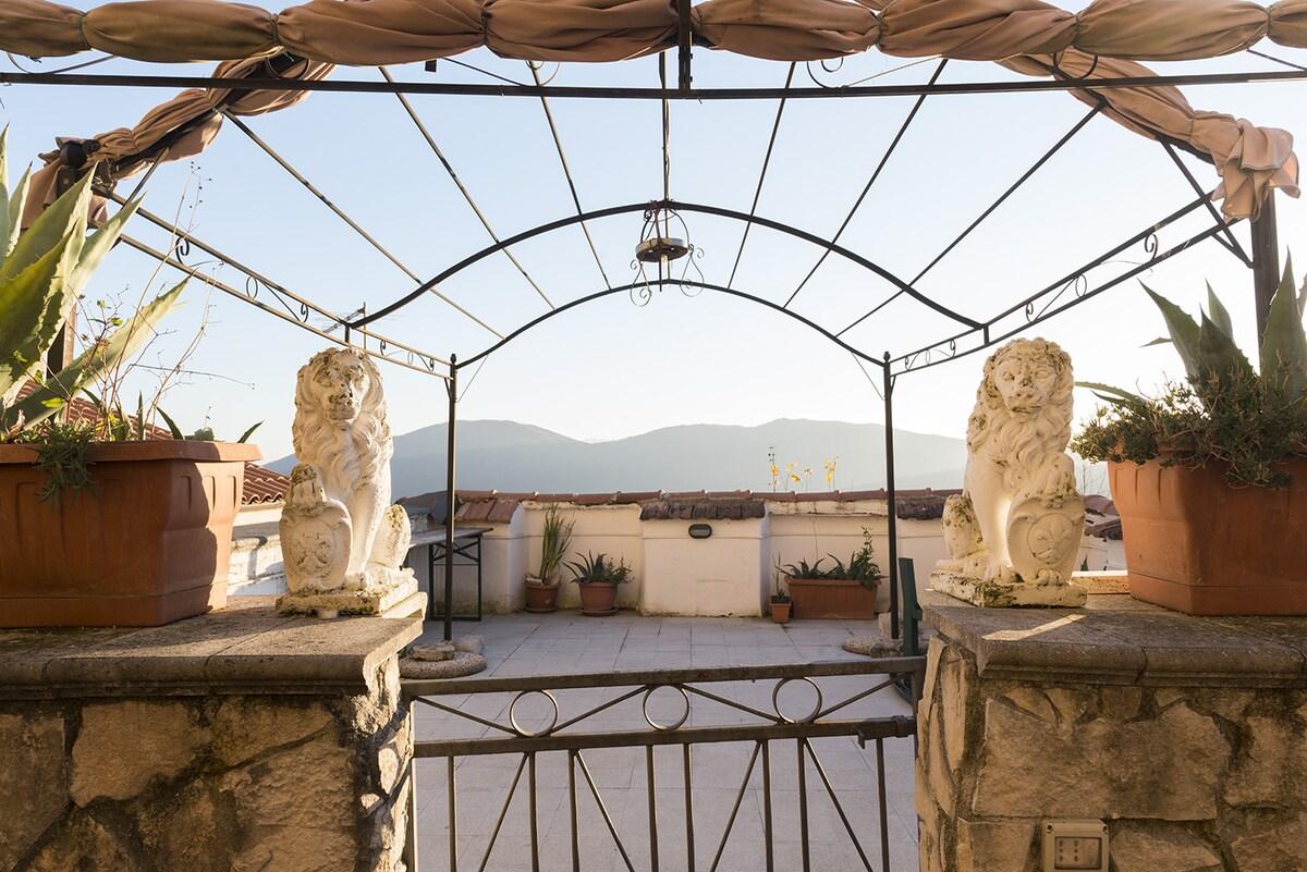 LA MORETTA, 1-br apt with a view
