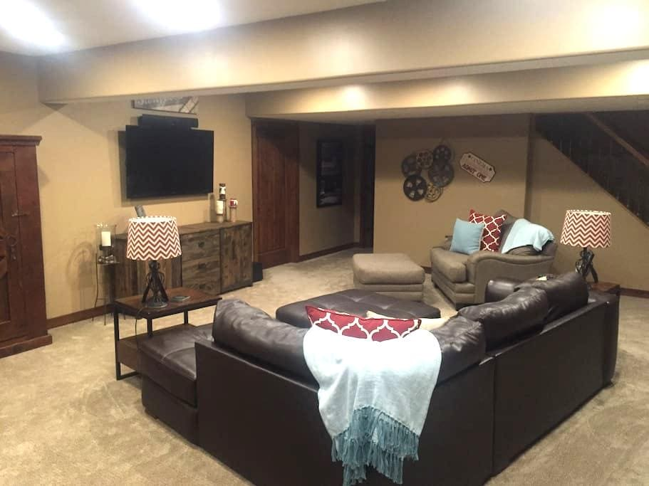 A cozy home away from home! - Gretna - Casa
