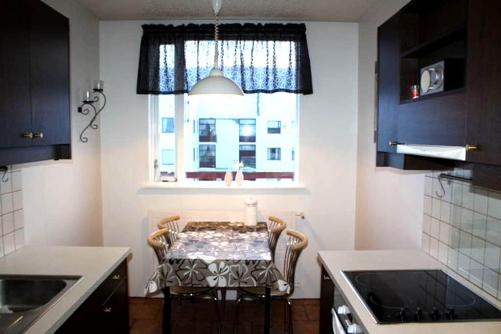 Cosy apartment on 3rd/top floor. - Akureyri - Apartament