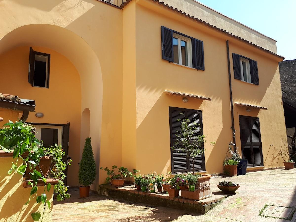 L Albicoccola Casa Rurale Con Terrazza E Cortile Houses