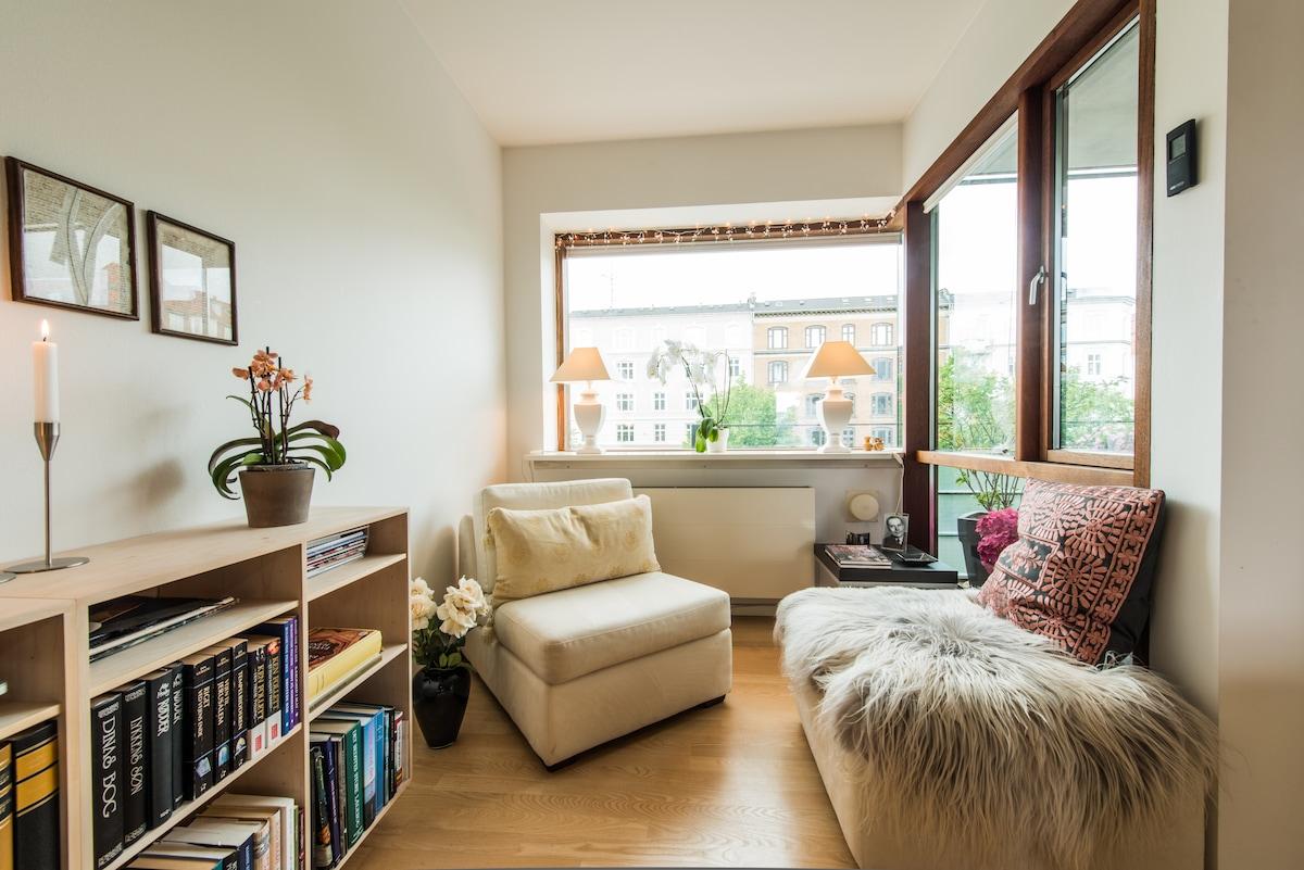 Sunny corner in the living room